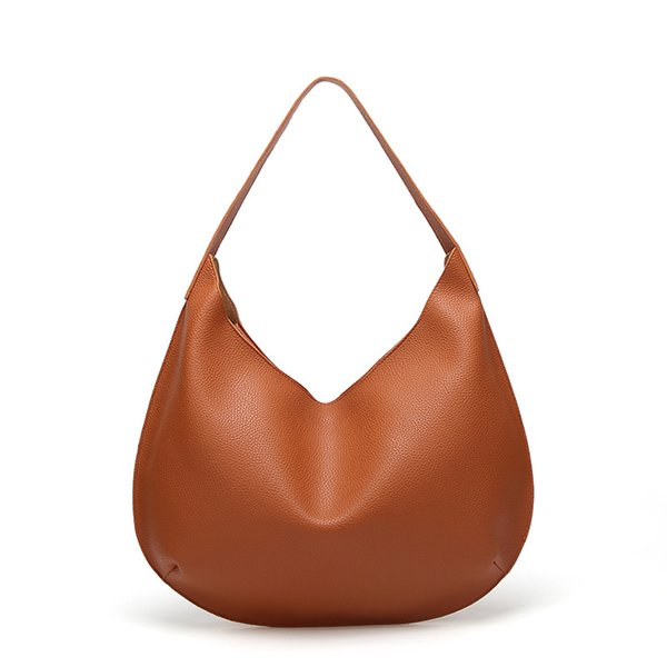 Axzspdy ladies hand bags leather autumn and winter lychee tote bags designer shoulder bag black red brown hand bag