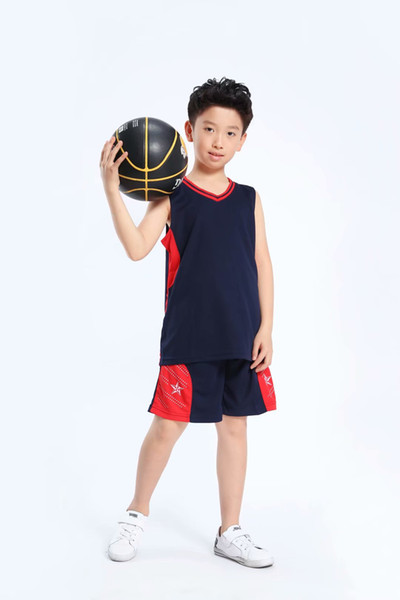 Şort A45-12 ile toptan Özelleştirilmiş erkekler Basketbol Üniformalar, erkek kitleri Spor giyimi eşofman, İndirim Ucuz çocuk basketbol takımları tepelerini