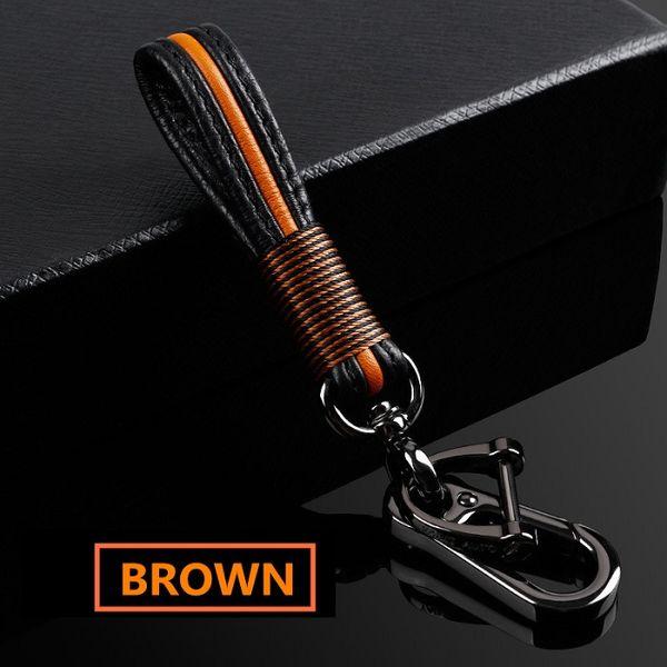 Llavero marrón