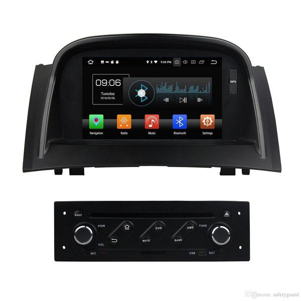TDA7851 Android 8.0 4GB di RAM 32GB GPS Car DVD ROM Glonass RDS radio WiFi Bluetooth per Renault Megane II 2 2004 2005 2006 2007 2008 2009