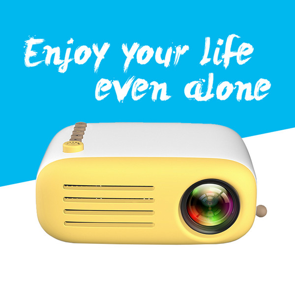 YG200 Mini Inteligente Home Cinema Home Theater Multimedia LED TFT LCD Projetor Portátil Suporte Multi-languauge Suporte HDMI