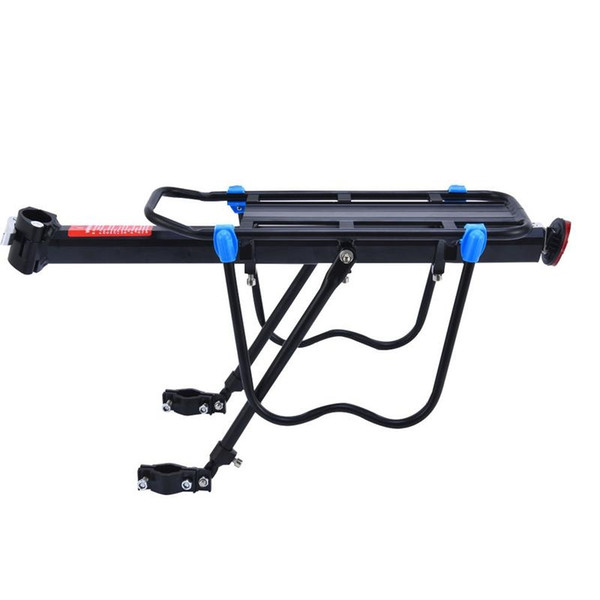 Bicycle Luggage Carrier Cargo Rear Rack Shelf Cycling Seatpost Bag Holder Stand for 19.69*5.90*7.87 inch Bike Accessories #200648