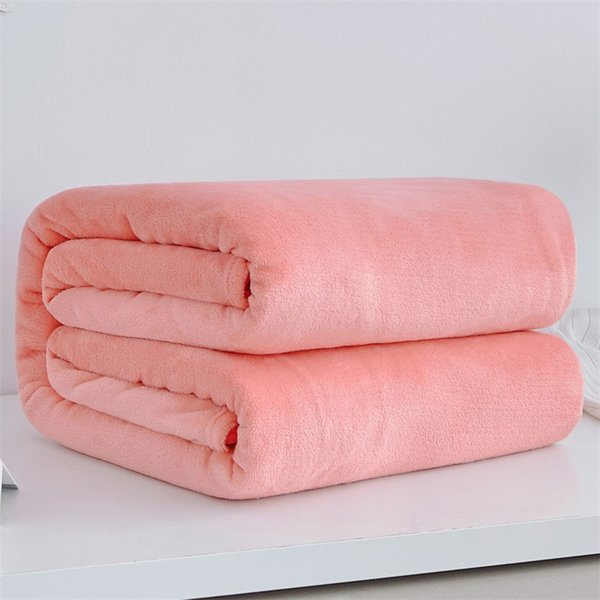 Bedroom Summer Thin Faux Fur Blanket Soft Coral Fleece Throws Sofa Cover Bedspread Flannel Blankets Jade Twin Bedsheet Quilts