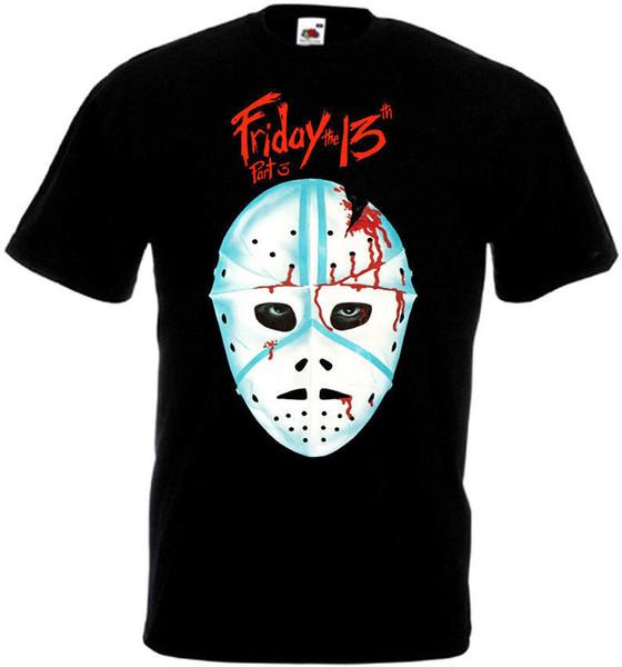 Пятница 13th v28 футболка черный плакат фильма Все размеры S-5XLCool xxxtentacion Маркус и Мартинус футболка