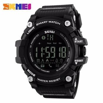 Skmei 1227 Cheap Bluetooth Watch With App Remind Outdoor Sports Watch Skmei Men Cool Smart Watches