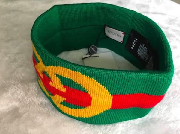 1pcs G Stirnbänder rot grünes Kreuz Retro Stirnbänder Luxus-Designer mit Tags Marke Stirnbänder Guccy Haarbänder Markendesign
