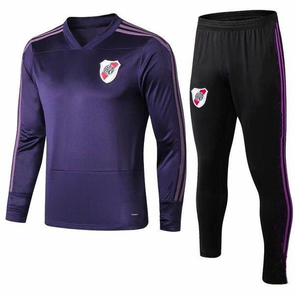 2019 River Plate soccer jacket tracksuit kit 18 19 football jacket G.MARTINEZ QUINTERO PRATTO riverbed Survêtement football tracksuit kit