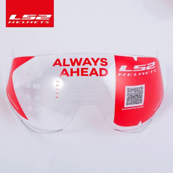 Casco moto LS2 OF562 originale extra lente argento nero colorato sostituire visiera visiera adatta solo per casco LS2 OF562