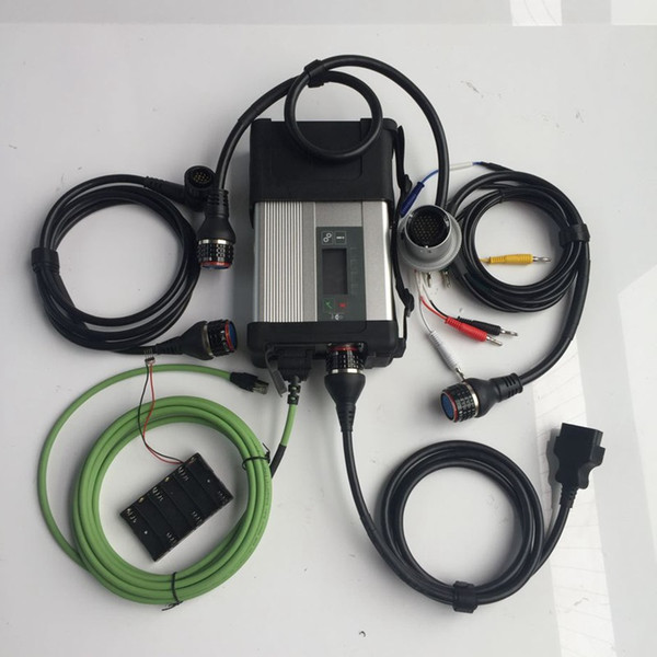 MB SD Star C5 SD Connect Kompakte 5-Sterne-Diagnose mit WIFI für PKW und LKW, mehrsprachig ohne Software-Festplatte