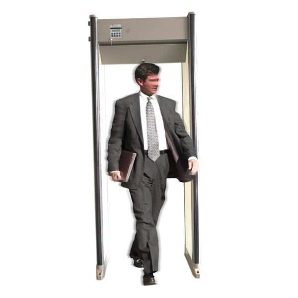 Free Shipping!!! 33 Zones Safe Guard Walk Through Metal Detector PD6500i Used in Airport, prison, factory, etc