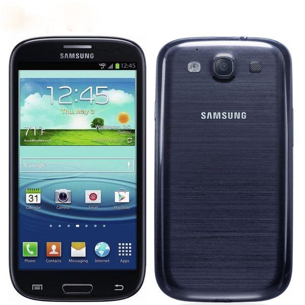 Smartphone ricondizionato Samsung Galaxy S3 i9300 Quad core Android sbloccato cellulare originale da 8MP Fotocamera NFC 4.8 '' GPS Wifi 3G