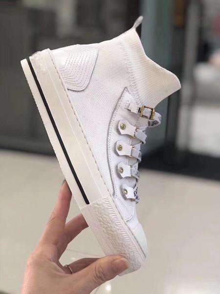 Ucuz Lüks Tasarımcı Erkekler Günlük Ayakkabılar Ucuz En Kaliteli Erkekler Bayan Moda Sneakers Parti Platform Ayakkabı Kadife Chaussures c17