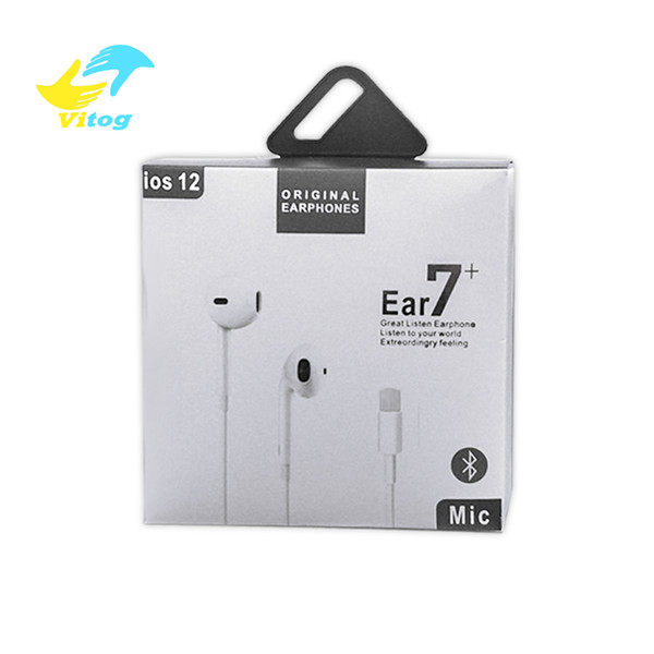 Alta calidad en el oído auriculares Bluetooth para auriculares Auricular para iphone XR X XS MAX 8 7 6 con micrófono