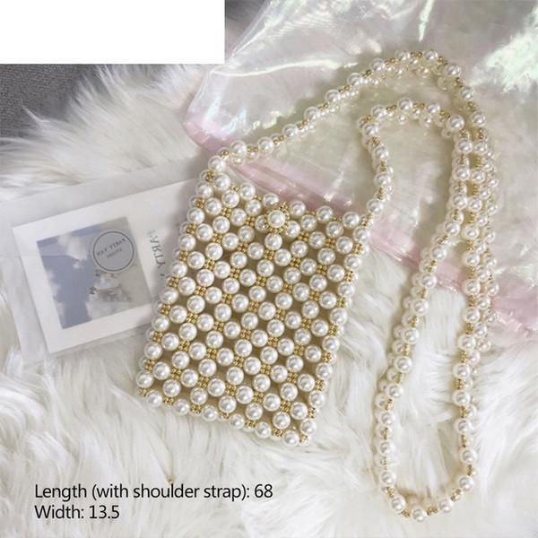 Gute qualität frauen Handtaschen Handtaschen Frauen Taschen Designer Aushöhlen Perle Tasche Partei Elegante Umhängetasche Bolsa Feminina