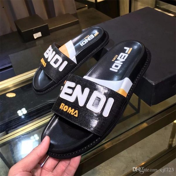 Best Mens Slippers 2020.2020 Leather Slide Sandals Slippers Men Women Hot Tiger Designers Flower Printed Unisex Beach Flip Flops Slipper Best Quality 38 45 Ladies Footwear