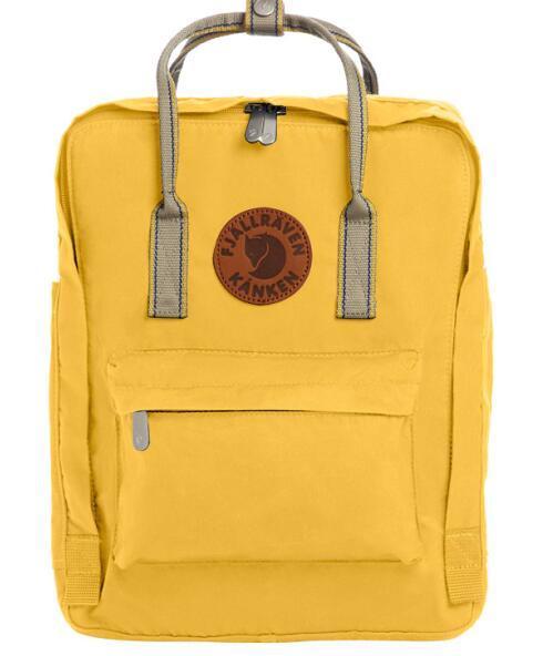 Top Seller Mochilas amarillas Fjallraven Kanken Mochilas escolares cómodas Mochilas diarias de lona a la venta con envío gratis