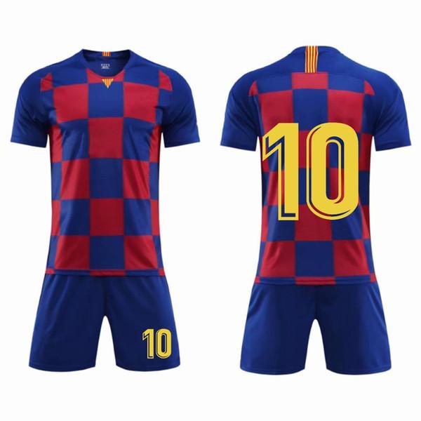 American College Football Wear 19/20 New season Men & Kid Football Kits , Jerseys Soccer (No any LOGO) survetement Football Shirt Sets