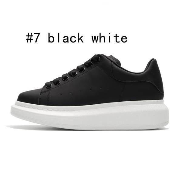 7 noir avec semelle blanche 36-44