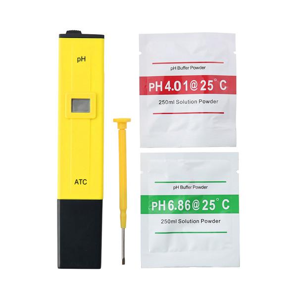 Nuevo Protable LCD Medidor de pH digital Probador Medidor de TDS para Drink Food Lab Aquarium 20% de descuento Monitor de PH con precisión ATC 0.1
