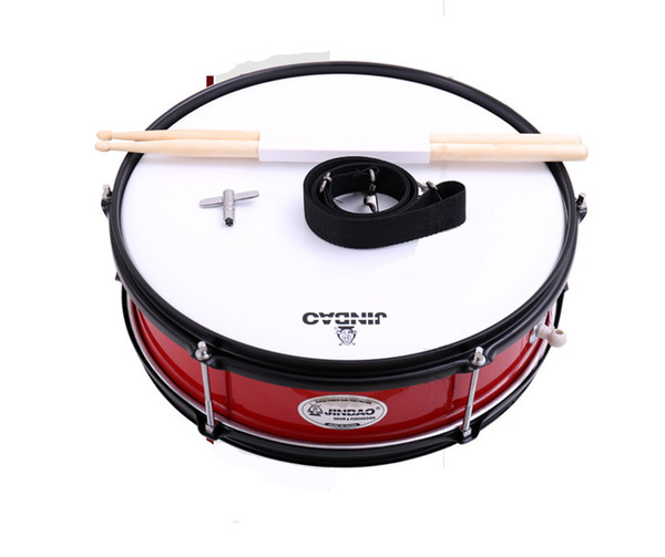 best selling Snare Drum Set Student Steel Shell 14 X 5.5 Inches, Includes Drum Key, Drumsticks and Strap
