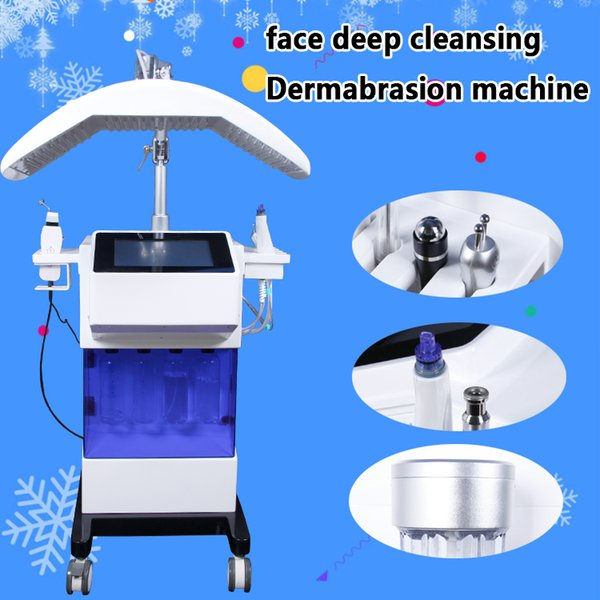 Professional Hydro Microdermabrasion hydrafacial Skin Care Cleaner Water aqua Jet Oxygen Peeling Spa Dermabrasion Machine with PDT