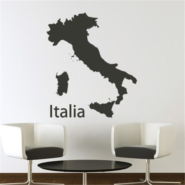 map wall sticker educational maps wall decal school office