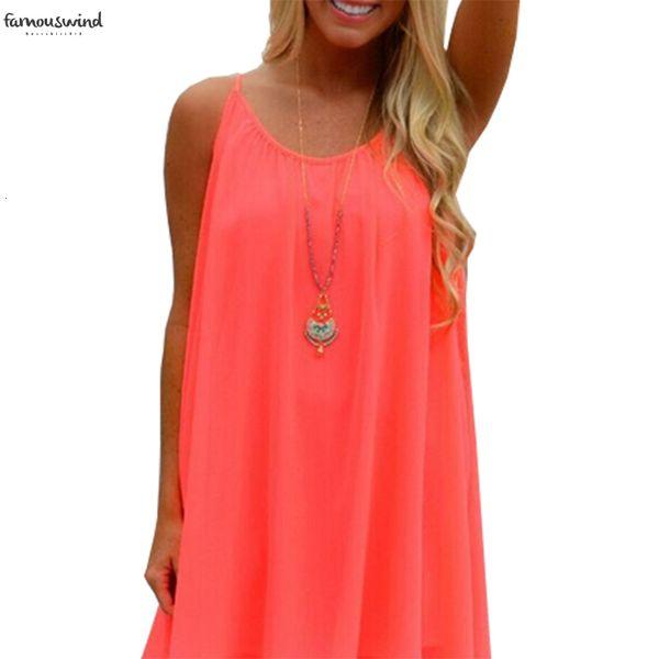 Frauen-Sommer-Kleid 2019 Lbd6289 Large Size Harness Süßigkeit färbt aushöhlen Mesh-Kurzschluss-Hemd Minikleider Kleidung Vestidos