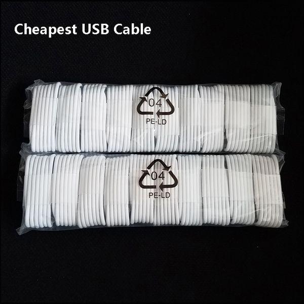 Günstigstes Ladekabel USB Datenkabel für Telefon 5 5s 6 6s 7 8 Plus und Android Micro USB 1M 3FT Sync Datenkabel MQ1000