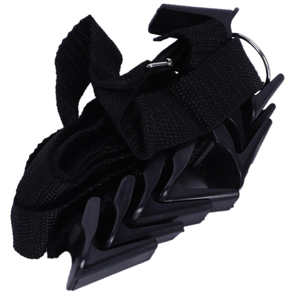 Adjustable over door straps bag hanger coat hook hat bag clothes storage rack home organizer creative housewares