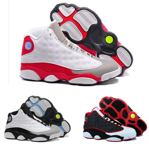 top popular Designer 13 RETRO basketball shoes mens He Got Game sports History of Flight 13s sneakers shoes Chicago fashion luxury Athletic shoes US7- 2019