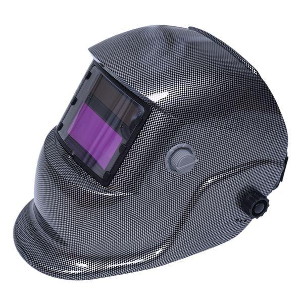 Maschera per saldatori con oscuramento automatico Maschera per saldatori Arc Tig Mig Rettifica a energia solare