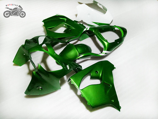 Мотоцикл обтекателя наборов для Kawasaki Ninja ZX9R 2000 2001 темно-зеленый ремонт ABS пластика шоссейных гонок корпус обтекатели ZX9R 00 01 ZX 9R