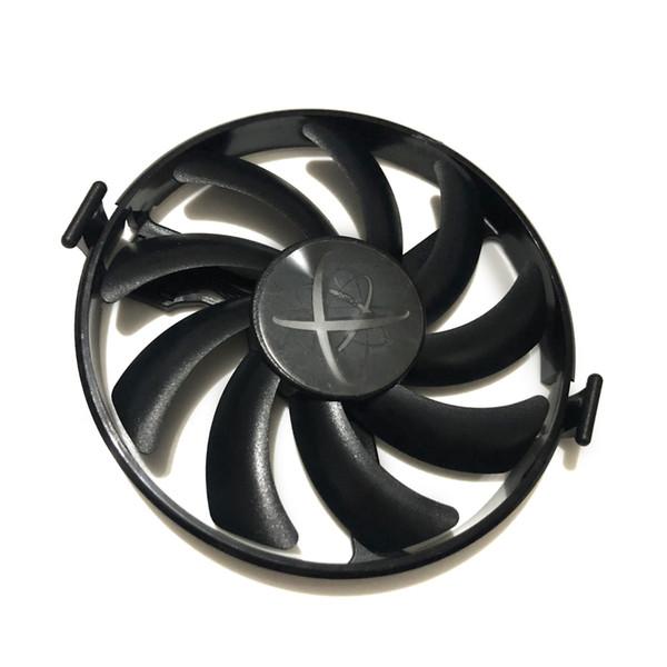 XFX dur swap Ventilateurs GPU VGA Cooler ventilateur de refroidissement FDC10H12S9-C Pour XFX RX480 RX470 RX580 Cartes vidéo Comme remplacement
