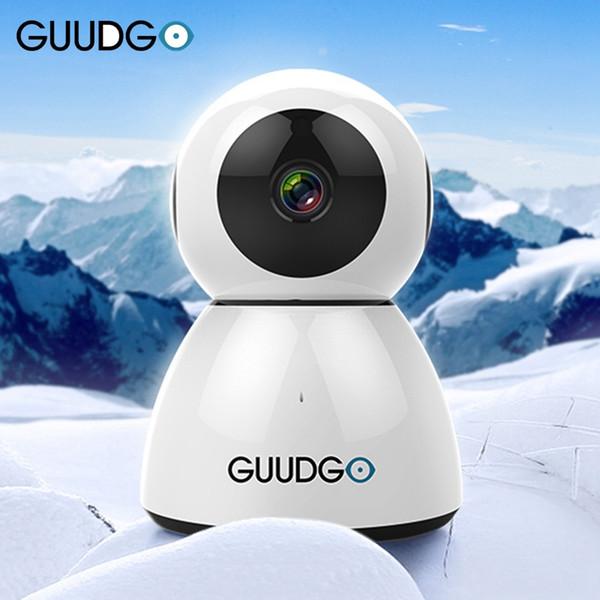 GUUDGO GD-SC03 Snowman 1080P Caméscope Cloud WIFI Vision Nocturne Twoway Audio IP Caméra de Détection de Mouvement VS YI pour Xiaomi Xiaofang