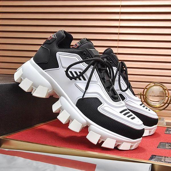 Yüksek Kaliteli erkek Ayakkabı Cloudbust Thunder Örgü Sneakers Vintage Artı Boyutu Zapatos de lujo para adam Moda Dantel-up Ayakkabı Bırak Gemi