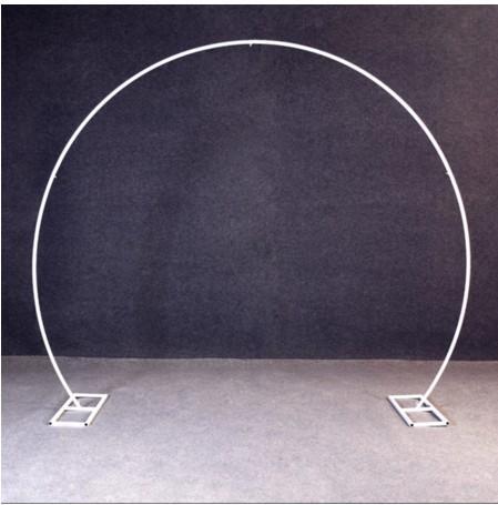 Forma redonda blanca
