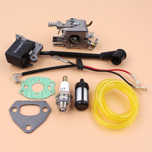 36 motosega Kit carburatore Bobina accensione Magneto Guarnizioni Per HUSQVARNA 136 137 141 142 36 41 Chainsaw Zama C1Q-W29E Carb