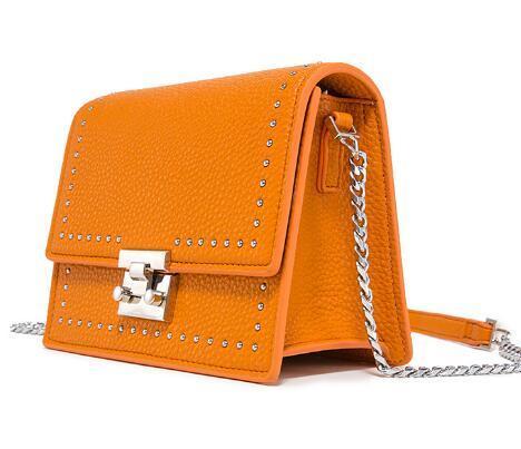 New Korean Square Bag Fashion Single Shoulder Slant Chain Bag
