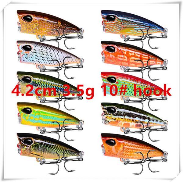 4.2cm 3.5g 10# hooks