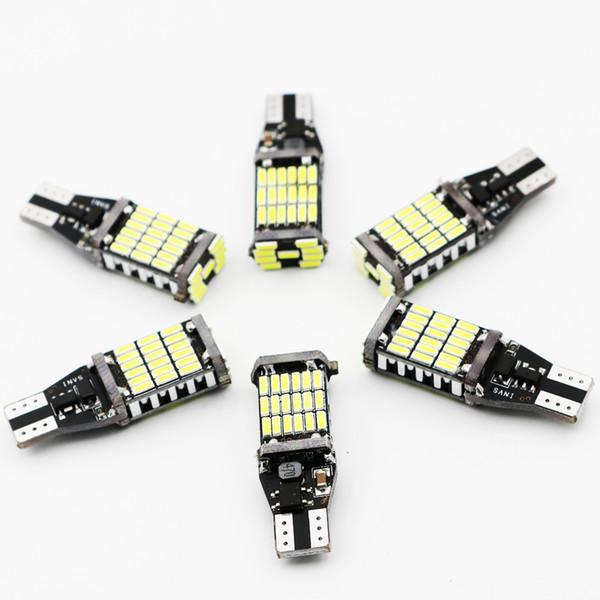 20X T15 W16W LED Rückfahrscheinwerfer 920 921 912 Canbus 4014 45SMD Highlight LED Rückfahrscheinwerfer Lampen DC12V Weiß