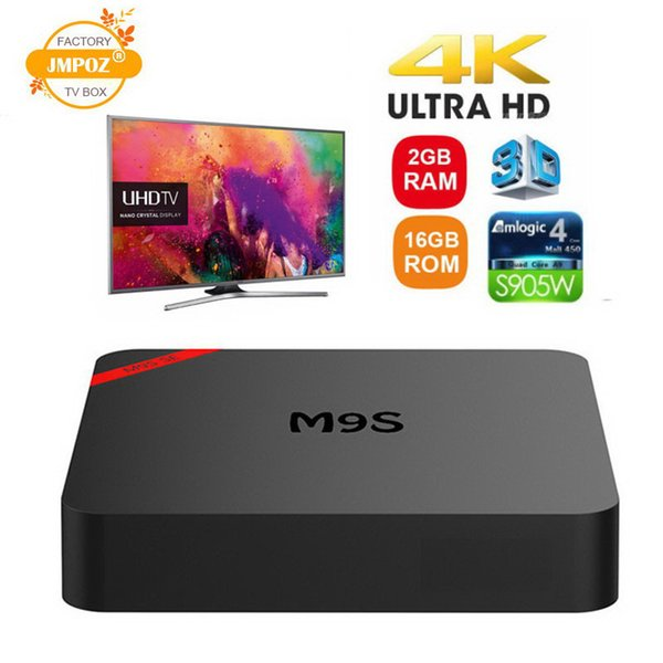 M9S SE Android 7.1 Tv Box 1 GB 8 GB 2 GB 16 GB Amlogic S905W Quad Core Media Player ARM Cortex A53 Mali-450MP CPU Better MXQ PRO TX3 Mini