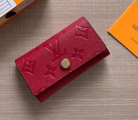 62630 petit et superbe porte-clés FEMME ROUGE BLANC STRIPE NOIR PORTE PORTEFEUILLE ZIPPY porte-monnaie porte-monnaie Ceinture Sacs Mini Sacs Embrayages Exotiques