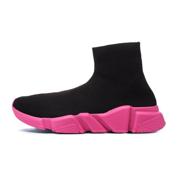 36-40 schwarz pink