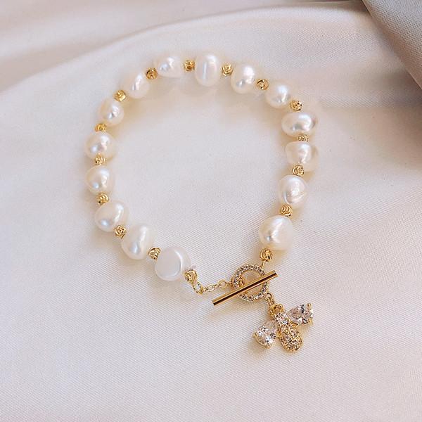 natural pearl bracelet