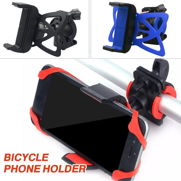 Ferramentas de ciclismo suporte de telefone bicicleta suporte de navegação de silicone durável portátil movimento prático