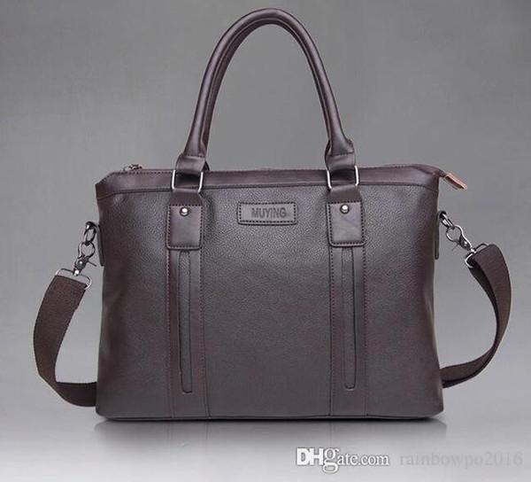 Продажа фабрики мужские сумки мода мода личи качество зерна кожа мужчины сумочка бизнес случайный мужской портфель