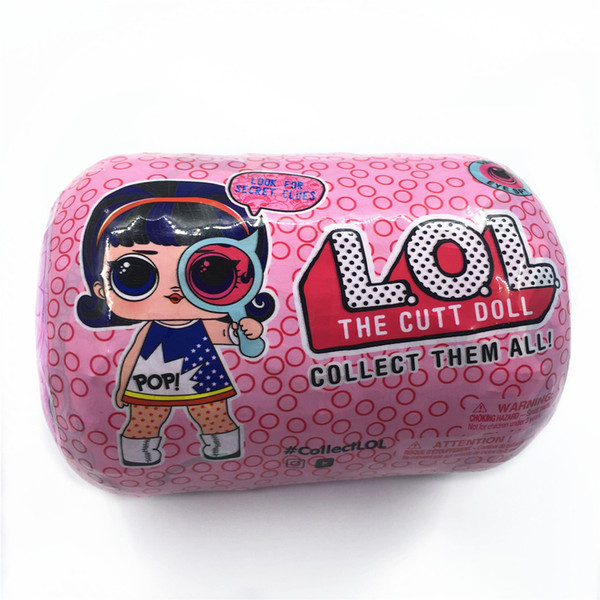 top popular 2020Spy Eye Series under wraps Doll Magic Egg Ball Action Figure Toy Kids Unpacking Dolls Girls Funny Dress Up Gift Christmas DHL free 2020
