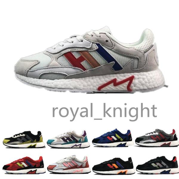 Ucuz Aktif Kırmızı Erkek kadın işıklı Yıldız Yıldız Toplu Tresc Run boost Koşu ayakkabı erkekler Eğitmenler Tasarımcı Spor Eğitmenler Sneakers 36-45