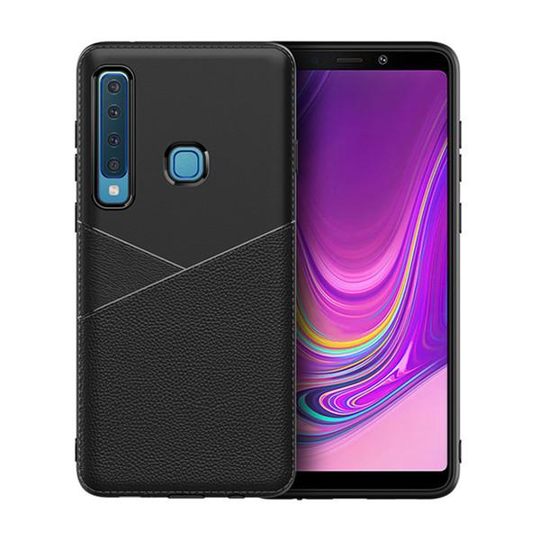 Fashion 360° business case anti-fall mobile phone case FOR:Samsung A20E A10 A6 A7 A8 A9 A30 A40 A50 A60 A70 CORE PLUS