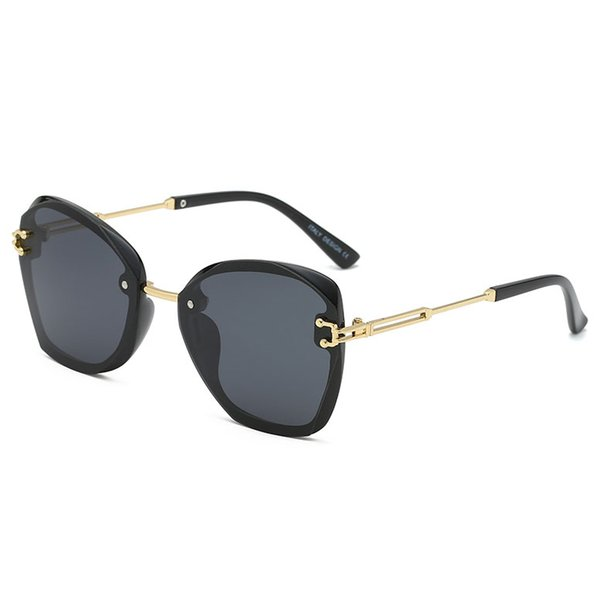New MLLSE fashion oversized square sunglasses women's brand designer retro retro big box women's sunglasses women's sunglasses